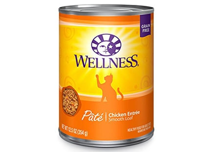 Best Cat Food For Indoor Cats - Wellness canned cat food