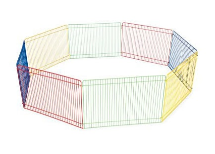 Best dog crate reviews - Prevue pet products multi-color small pet playpen
