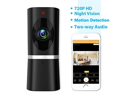 Best pet camera reviews - Takihoo WiFi IP Pet Surveillance Camera
