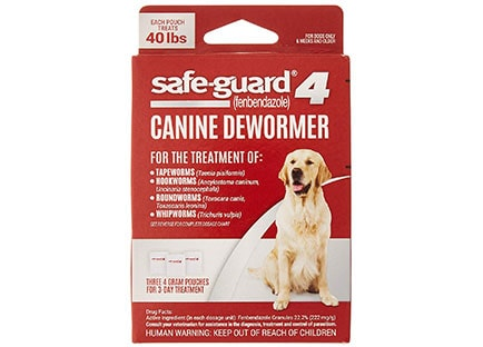 safeguard dewormer for dogs