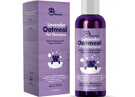 Colloidal oatmeal dog shampoo