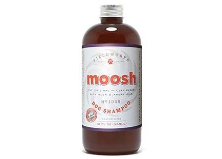 Fieldworks moosh dog shampoo