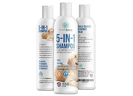 PET CARE Sciences 5 in 1 Dog Shampoo