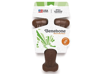 Benebone Wishbone Durable Dog Chew Toy