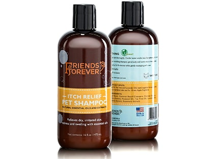 Friends Forever Natural Dog Shampoo for Dry Itchy Skin