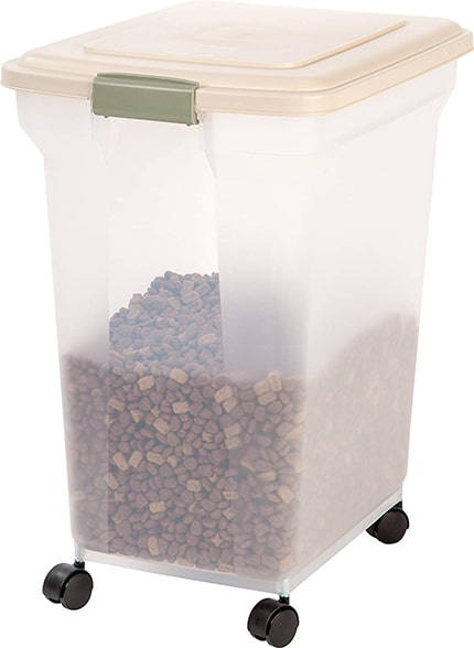 How to store dry dog food long term