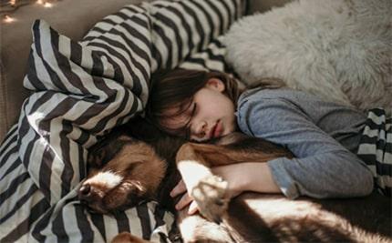 Sleeping with your dog benefits