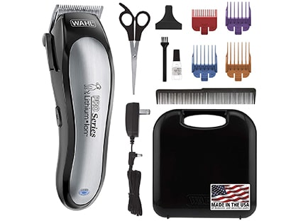 WAHL Lithium Ion Pro Series Cordless Dog Clippers