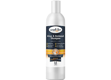 Jungle Pet Aloe & Oatmeal Shampoo